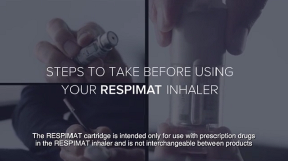 how to use respimat inhaler